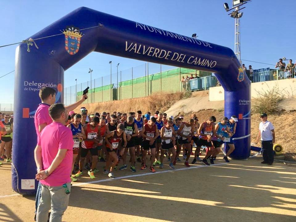 Los portugueses Manuel Ferraz y Patricia Serafím ganan la Media Maratón Virgen del Reposo