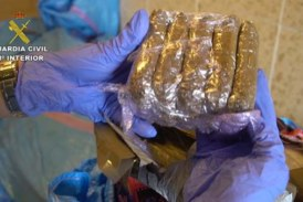 Prisión sin fianza para tripulantes del barco que transportaba tonelada hachís