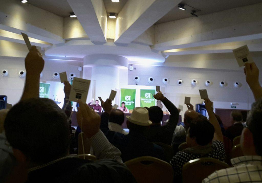 Andalucía Por Sí abre el proceso para presentar candidatura a la Presidencia de Andalucía