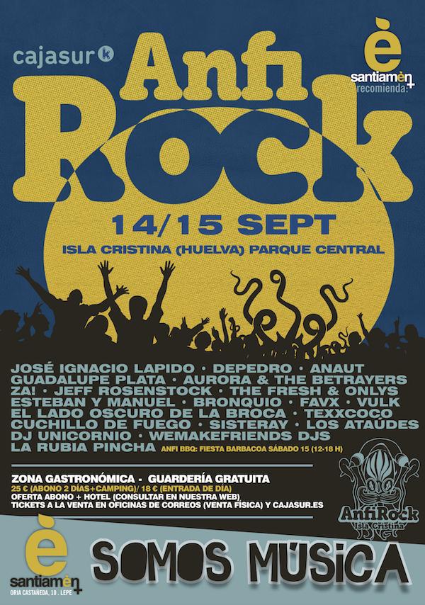 Programación 'Anfi Rock' Isla Cristina 2018