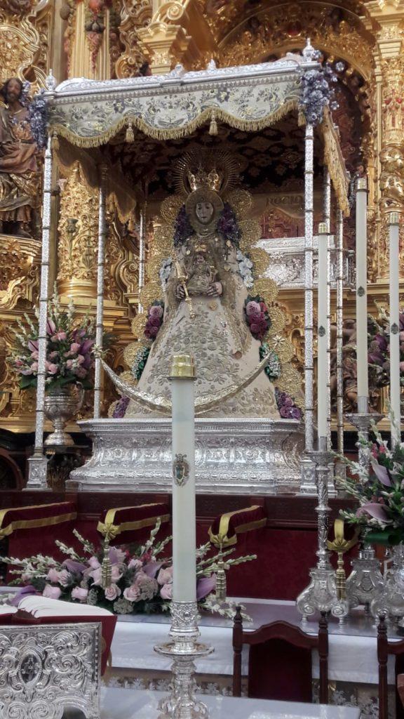 La Hermandad de Isla Cristina en el Centenario de la Coronación de la Virgen del Rocío,