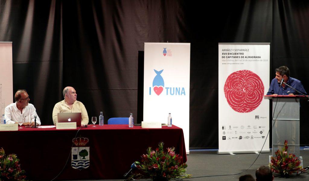 Rafael Salgado realizó el Pregón Almadrabero en Isla Cristina