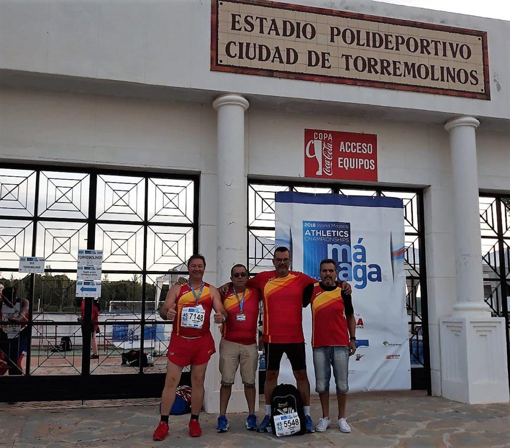 El atletismo isleño entre los mejores atletas máster del mundo en Málaga