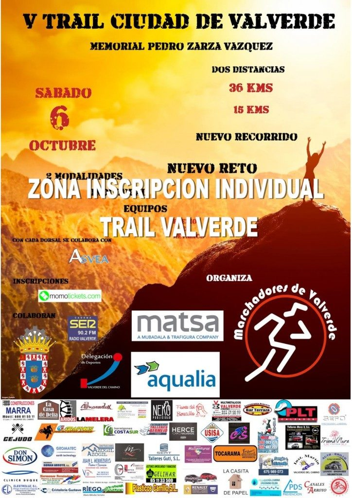 Trail Ciudad de Valverde-Memorial Pedro Zarza Vázquez