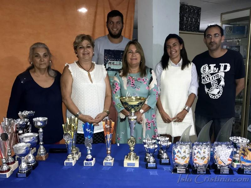 Se entregan en Isla Cristina los premios de las fiestas Virgen del Mar
