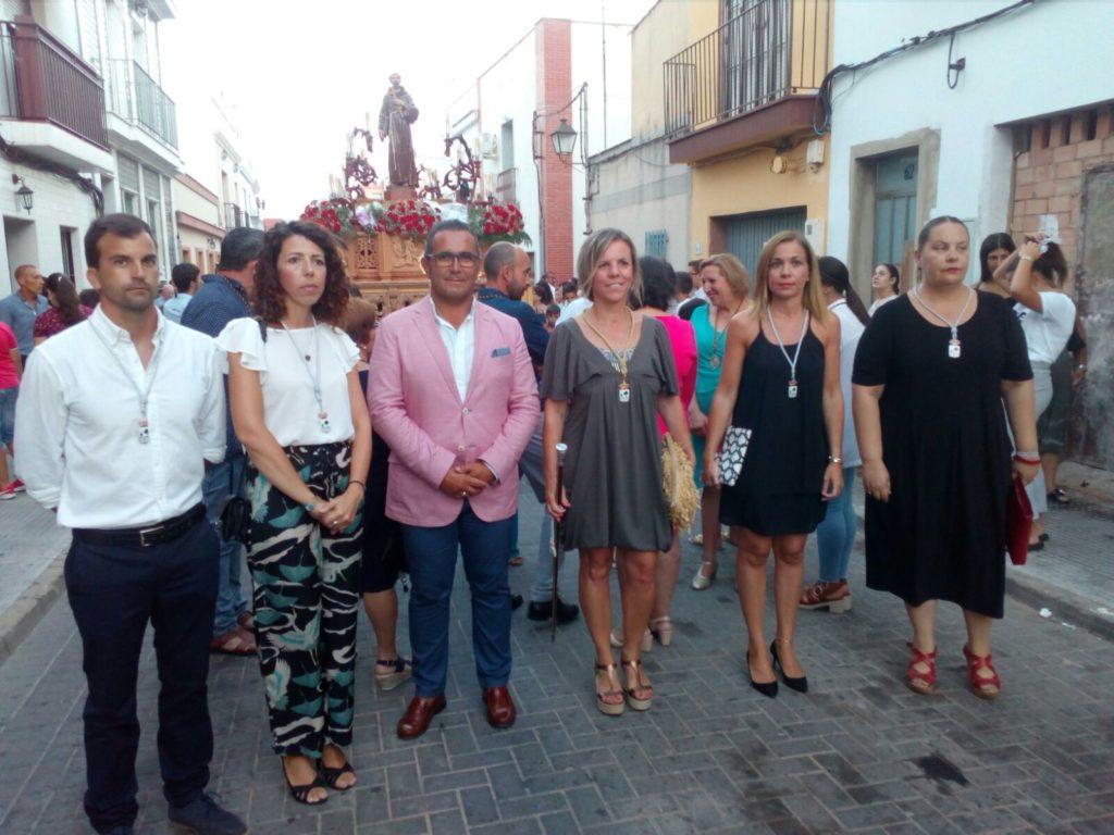 Concluyen las Fiestas en Honor a San Francisco de Asís en Isla Cristina