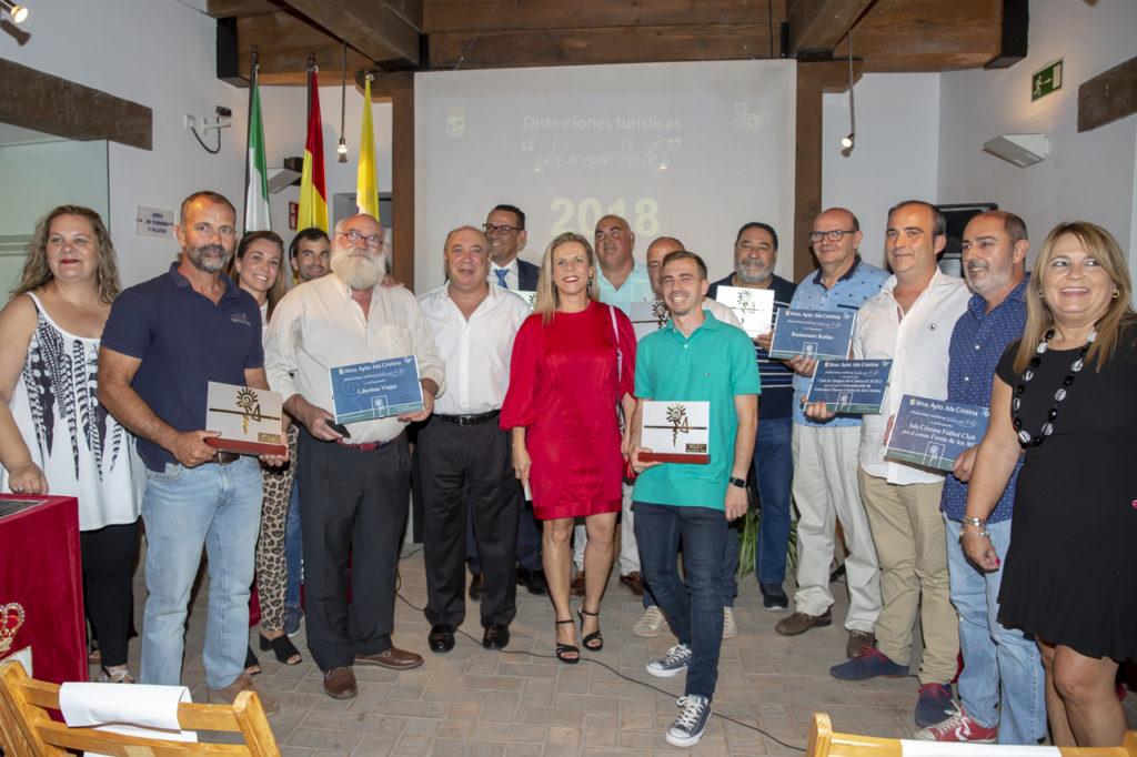 El Ayuntamiento de Isla Cristina entrega sus distinciones turísticas
