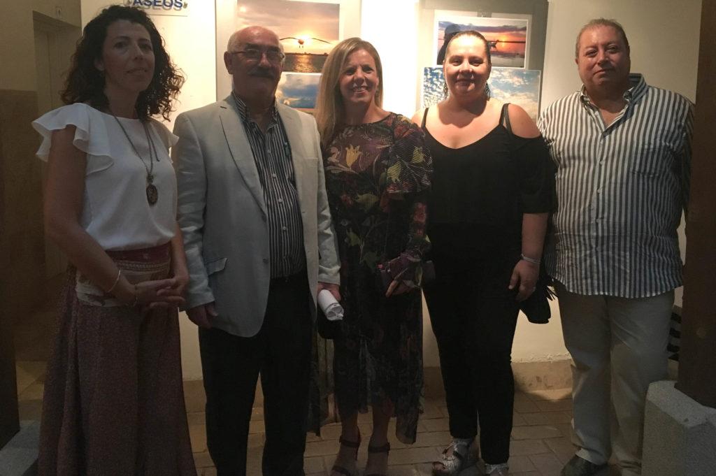 Los atardeceres de Wenceslao Ríos Mora, protagonistas de una exposición en Isla Cristina