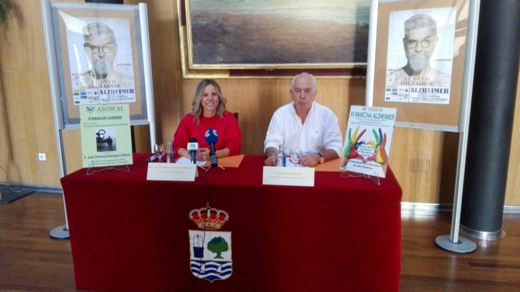 Asoifal presenta su anual semana en Isla Cristina dedicada al Alzheimer
