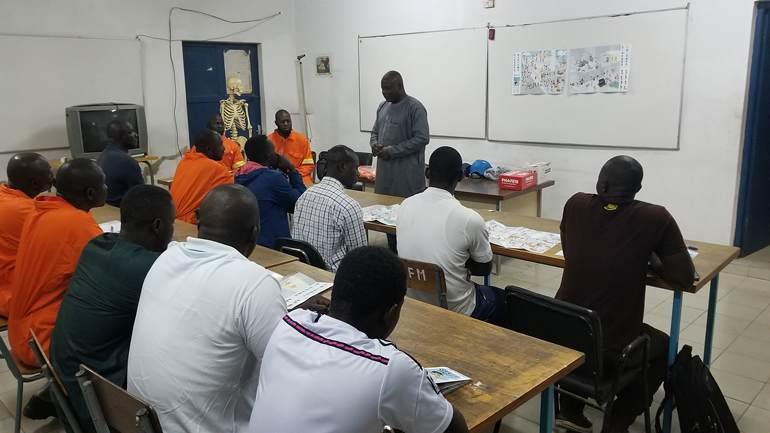 Marineros senegaleses realizarán Formación en el Centro Nacional de Formación Marítima de Isla Cristina