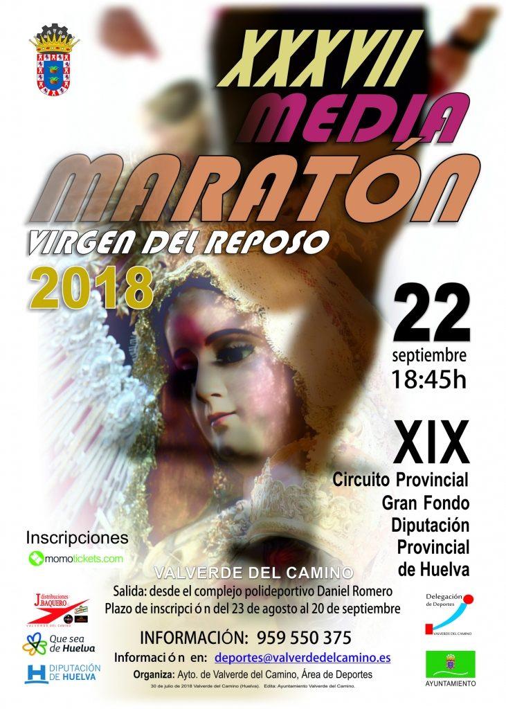 Valverde celebra el Media maratón Virgen del Reposo