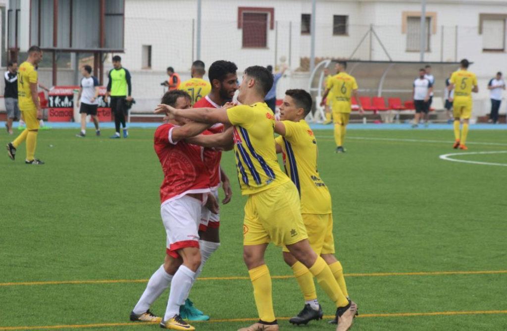 Tres partidos de suspensión para el delantero Fran del Isla Cristina