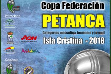 Isla Cristina acoge la Liga Andaluza de Clubes y Copa Federación de Petanca 2018