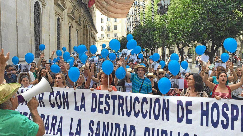 Los Chares de Huelva: Hospitales Publicitarios, no asistenciales