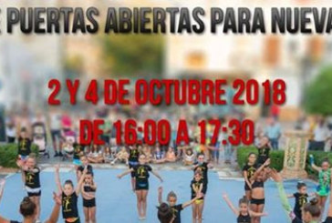 Jornadas de puertas abiertas del Club Gimnasia Rítmica Isla Cristina