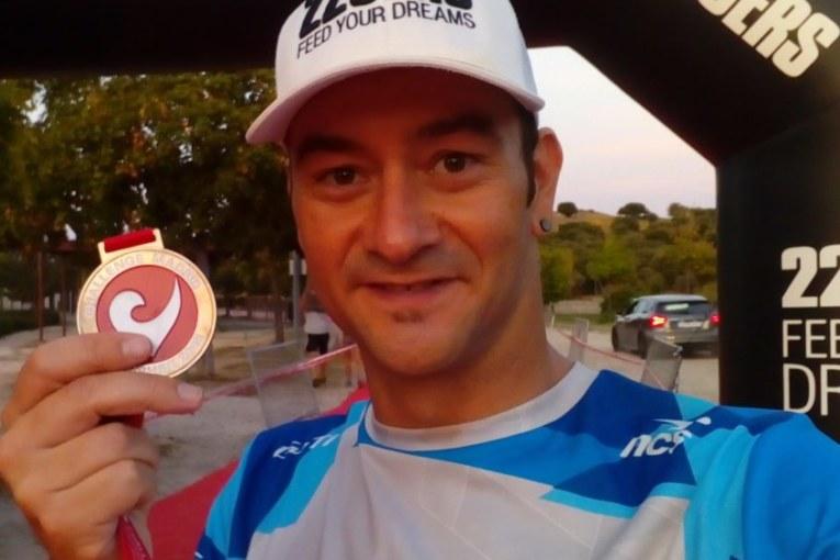 Rubén Gutiérrez Top 5 Absoluto y Subcampeón Máster (40-44) en la Sailfish de Madrid