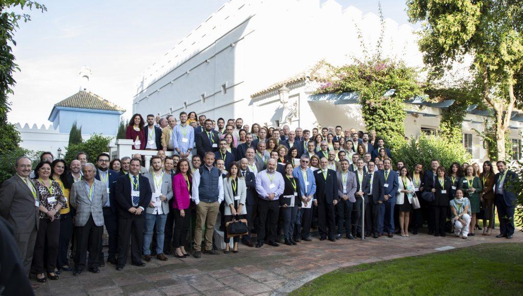 Cerca de 200 empresarios de Huelva y el Aljarafe sevillano se dan cita en una jornada de networking en Benacazón.