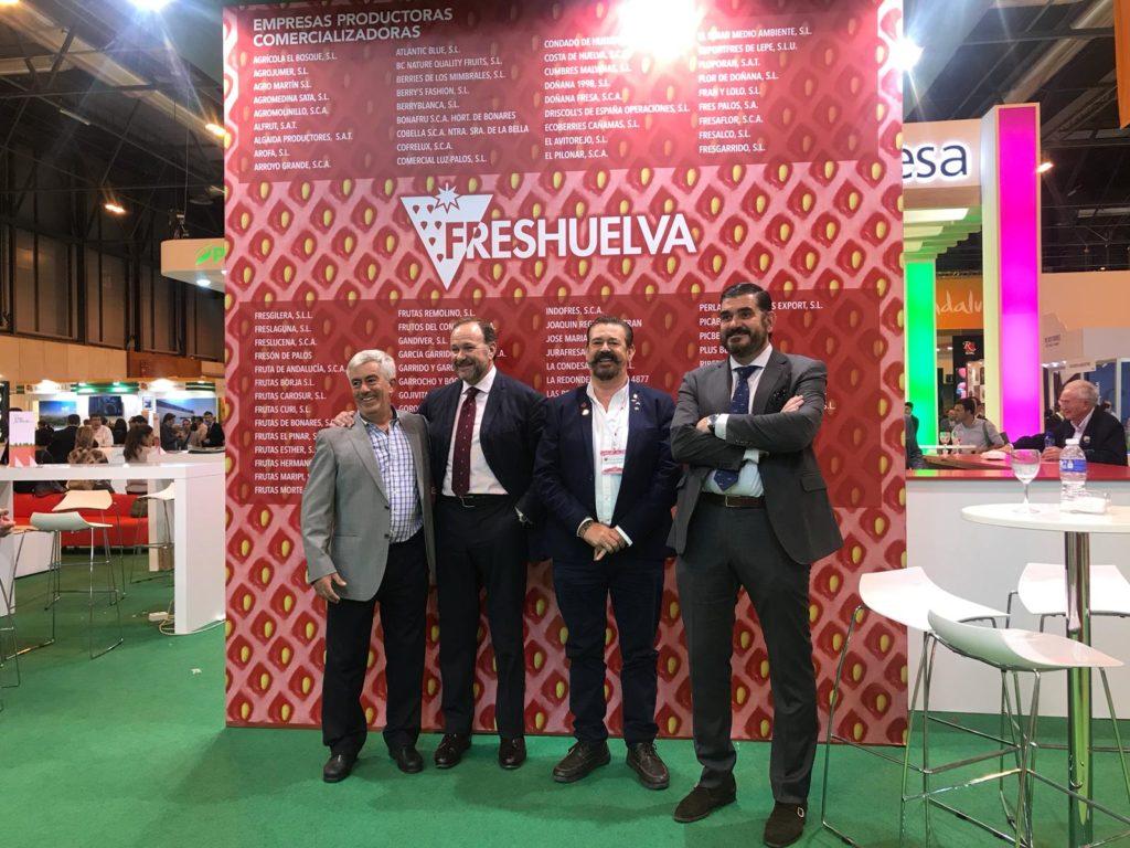 Interfresa felicita a cooperativas y empresas de Huelva