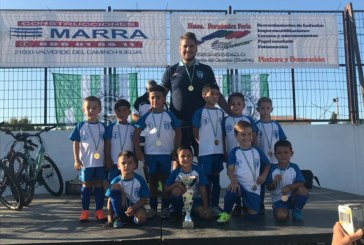 Sobresaliente la cantera del Isla Cristina en el Torneo de Valverde