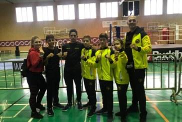 Lluvia de medallas para el Club de Kick Boxing del gimnasio VIP GYM de Isla Cristina