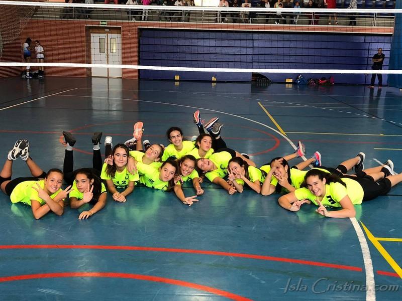 A pesar de las derrotas, buenas expectativas para el Voleibol Isla Cristina