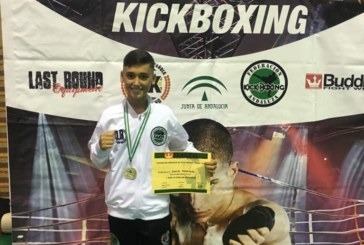 Oro para Daniel Rodríguez, en el Open Nacional de Andalucía de KickBoxing