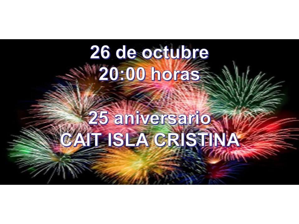 Programación para hoy viernes 26 de octubre de Radio Isla Cristina