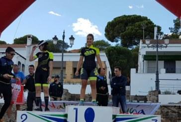 Las BTT isleñas Marta Núñez y Mirian Palacios, Campeonas provinciales