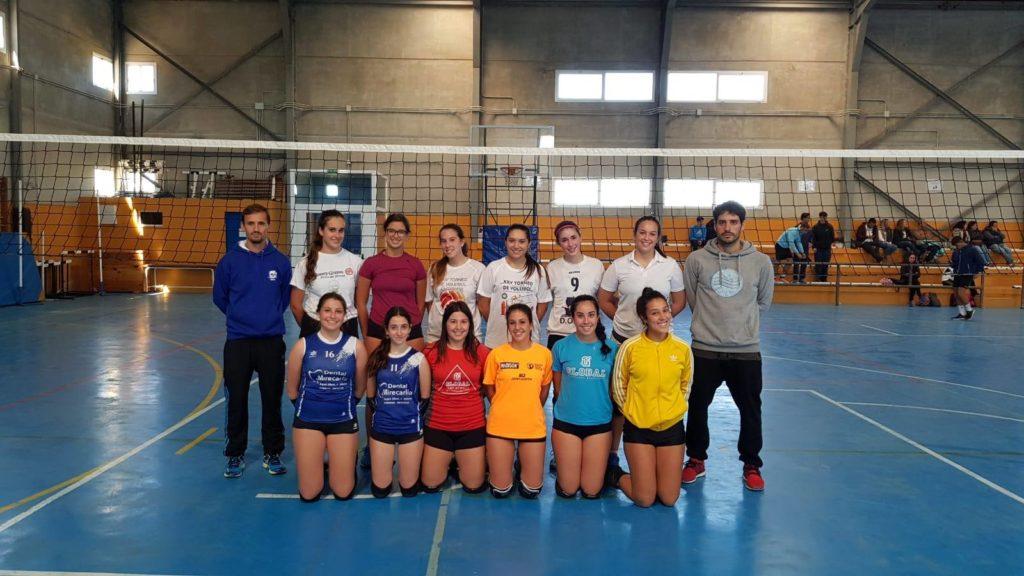 Manuel Elías técnico del Club Deportivo Voleibol Isla Cristina, con la selección de Huelva