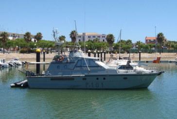 El patrullero 'P-101' de la Armada podrá visitarse en el Puerto Deportivo de Isla Cristina