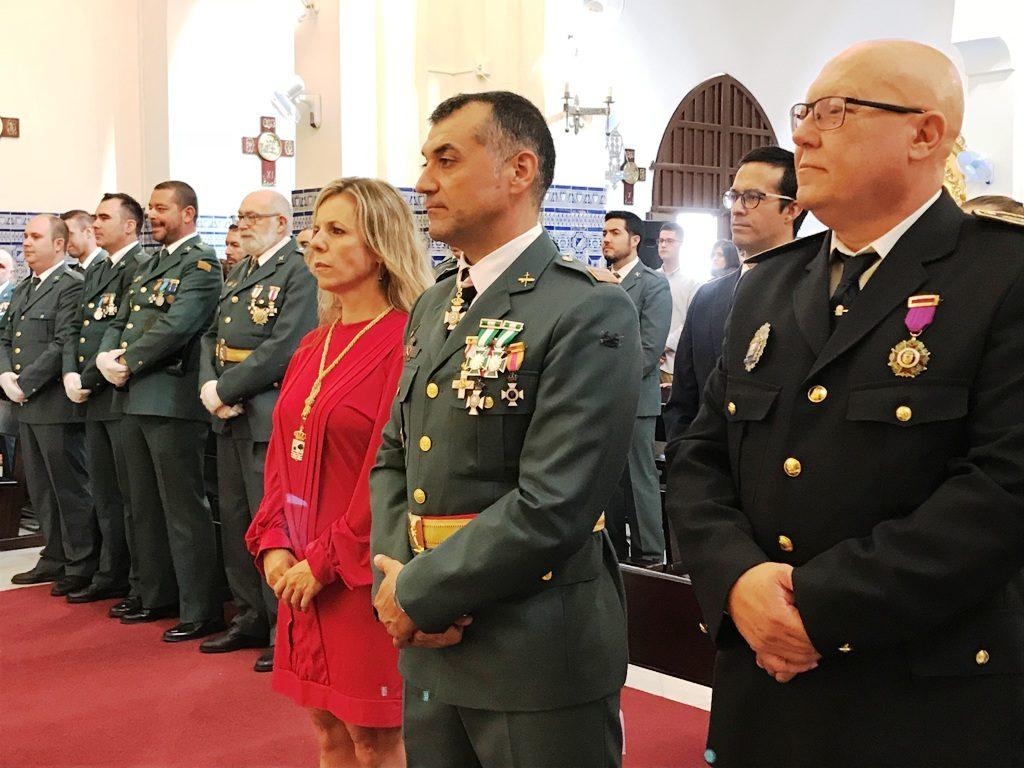La Guardia Civil de Isla Cristina festejó a su Patrona la Virgen del Pilar