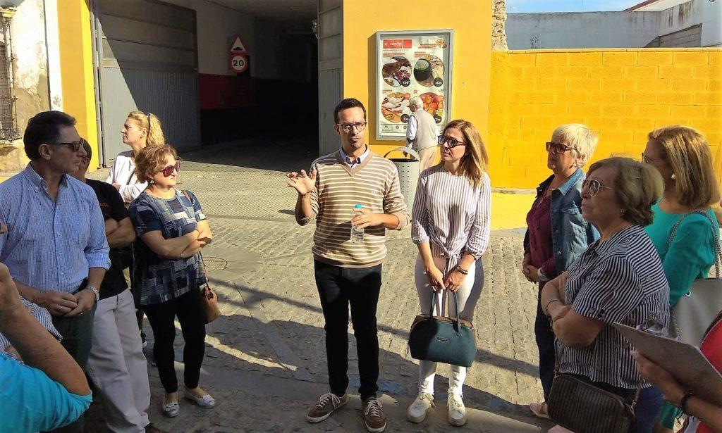 Isla Cristina celebró la Ruta sobre Blas Infante para mayores