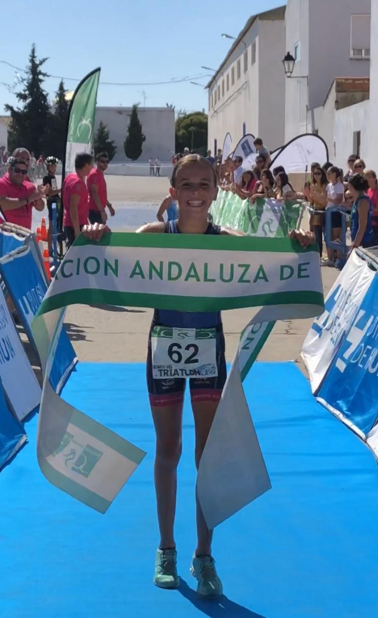 Santa Olalla celebró la Copa de Andalucía de Duatlón Cross de Menores