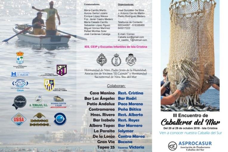 """Programación III Encuentro Caballeros del Mar """"Isla Cristina"""""""
