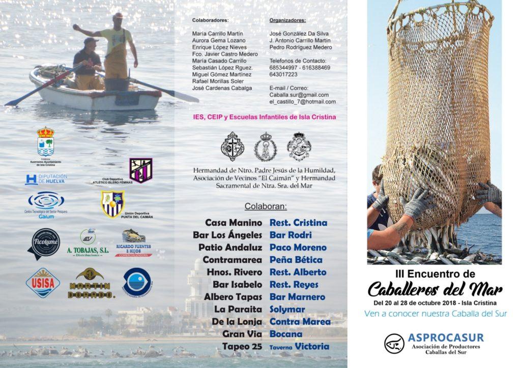 Programación III Encuentro Caballeros del Mar «Isla Cristina»