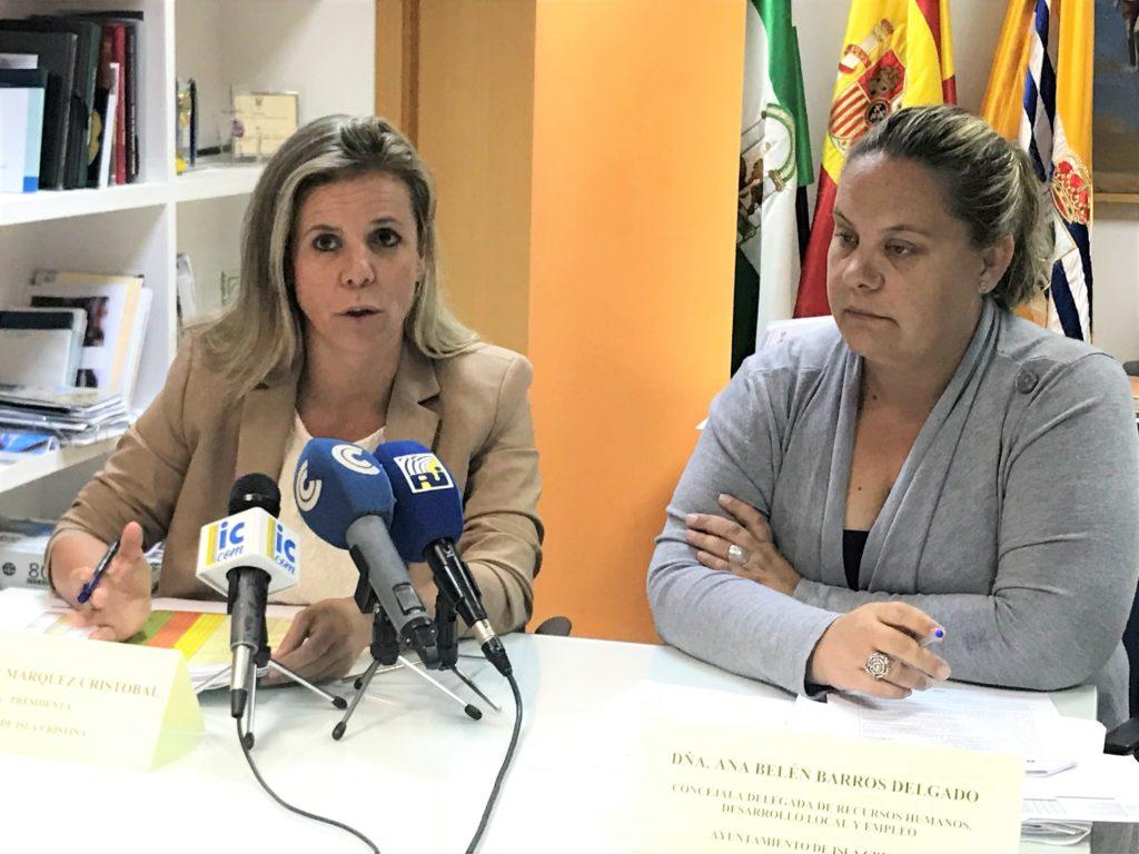 Presentado los Planes de Empleo para Isla Cristina