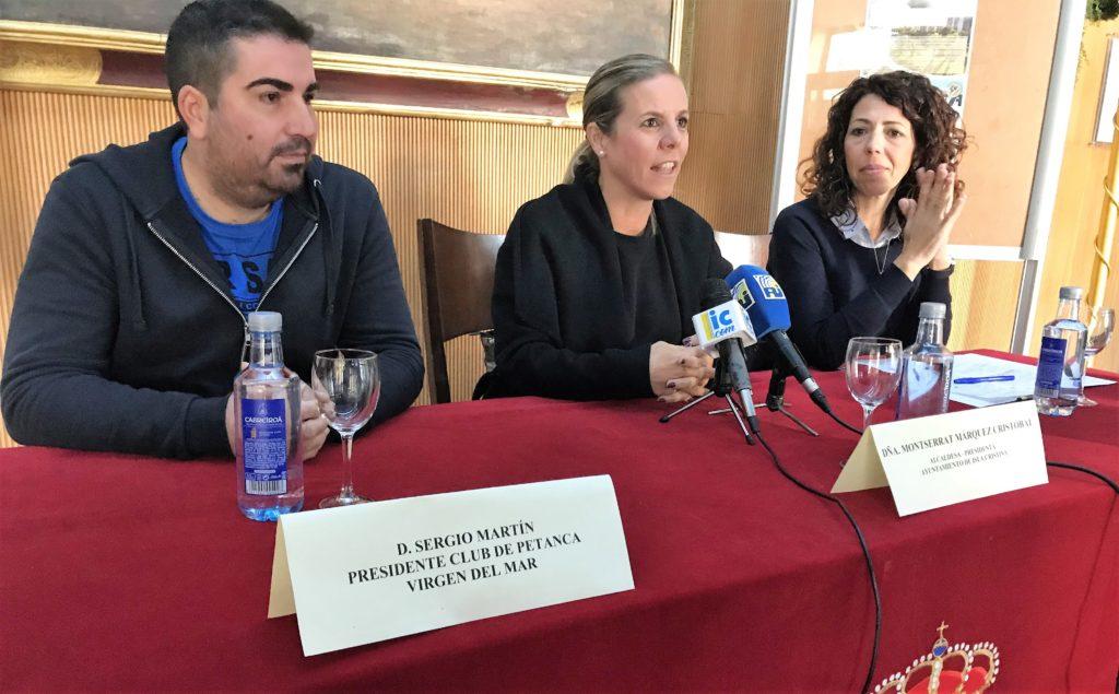 Presentado el VI Open Internacional de Petanca «Ciudad de Isla Cristina»