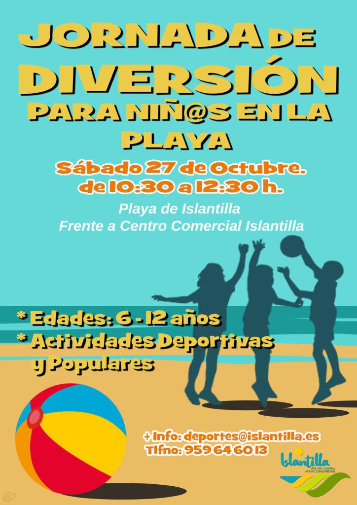 Jornada de Diversión Deportiva para Niñ@s en la Playa de Islantilla