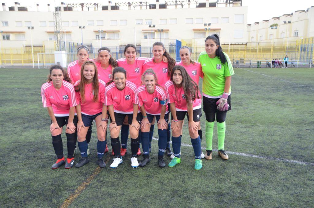Victoria contundente del Club Atlético Isleño Féminas