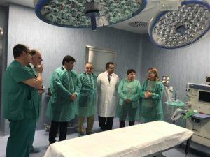 La inauguración de los Quirófanos del Hospital Infanta Elena