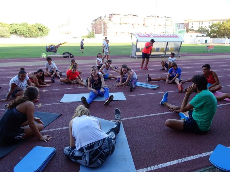 Sigue a buen ritmo la Escuela del  Club Atletismo Isla Cristina