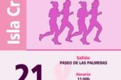 """Isla Cristina acoge la """"I Marea Rosa contra el Cáncer de Mama"""""""