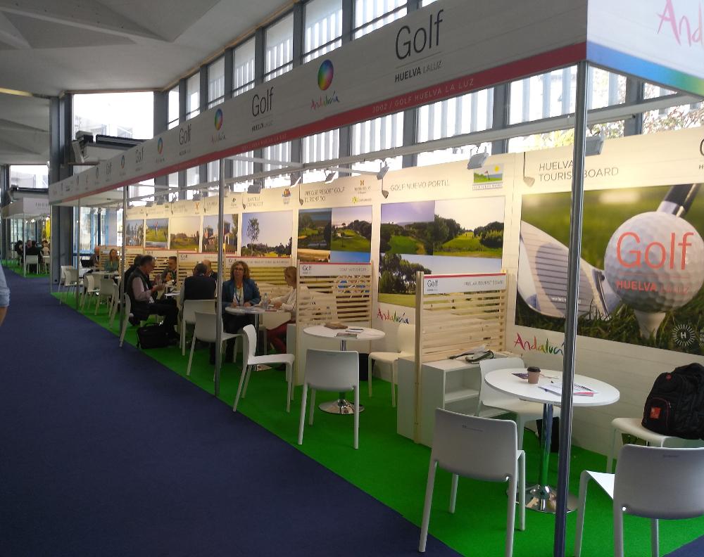 Huelva promociona su oferta de turismo de golf en la Feria IGTM en Eslovenia
