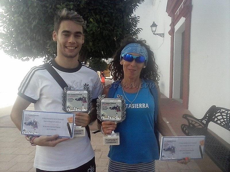 Moisés Antonete y María Belmonte ganan en El Granado