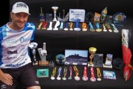Rubén Gutiérrez finaliza su larga y exitosa temporada de natación en aguas abiertas