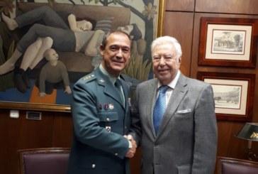 Fundación Caja Rural del Sur y la Guardia Civil en Huelva potencian su colaboración a lo largo del año