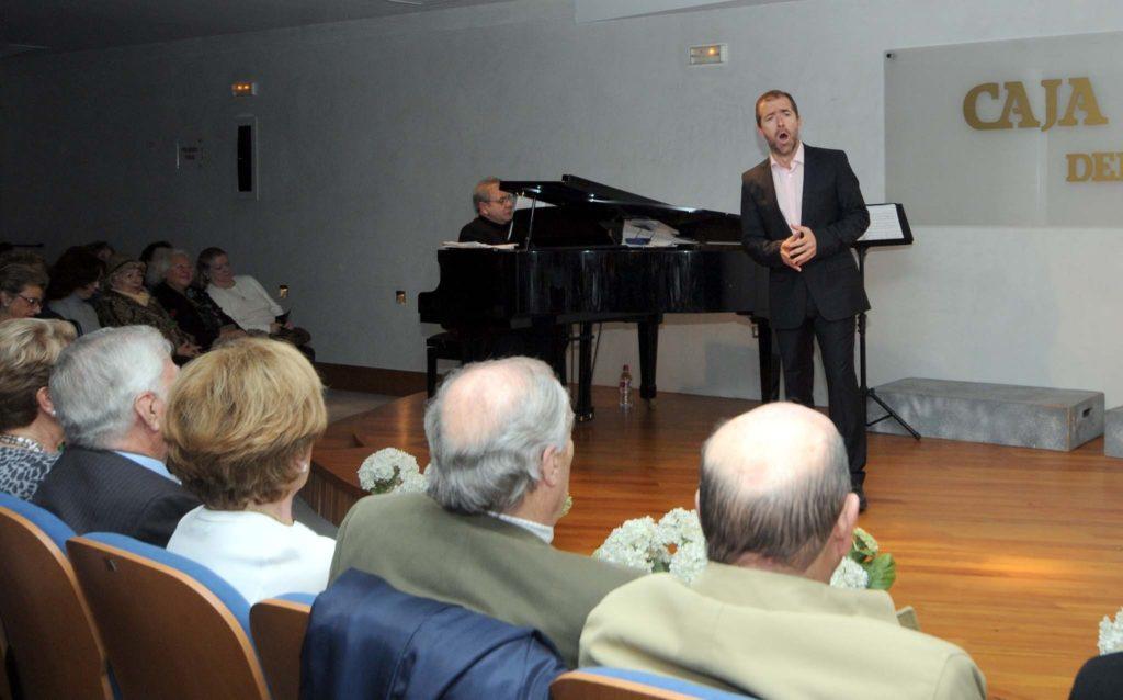 Ana Troncoso y Guillermo Orozco en el Concierto Lírico de este jueves en Fundación Caja Rural del Sur