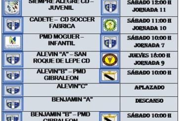 Agenda futbolera fin de semana del Isla Cristina FC