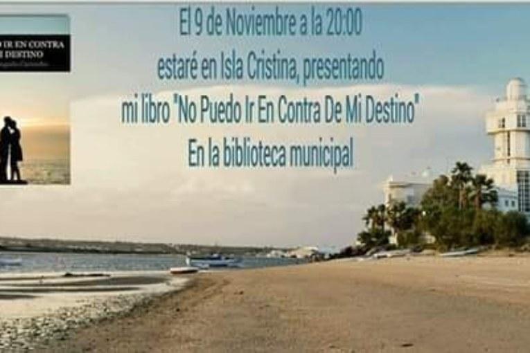 """Lorena Bogado presenta en Isla Cristina """"No Puedo Ir En Contra De Mi Destino"""""""