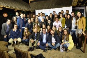 Pedro Barriga Orta es elegido presidente de Nuevas Generaciones en el Congreso Local de Lepe